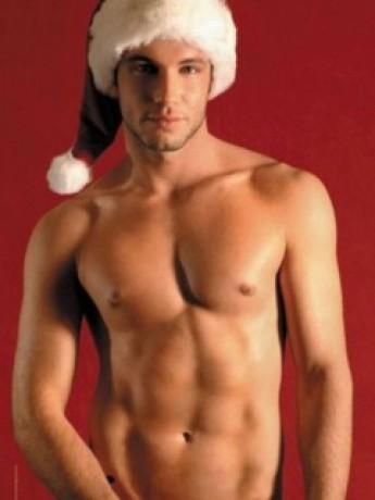 Хочу тебя в новогоднюю ночь (гей порно фото, категория: Рисунки и открытки)